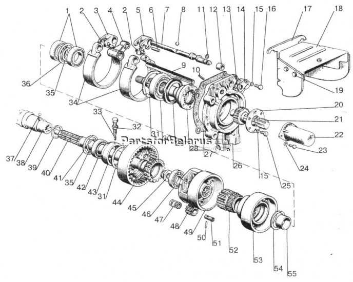 804202015a Pto Shaft Assembly 6spline For Belarus Tractors Up To 60 Off Dealer Prices Tractorjoe. Pto Shaft Assembly 6spline 804202015a. John Deere. John Deere Pto Diagram 820 At Scoala.co