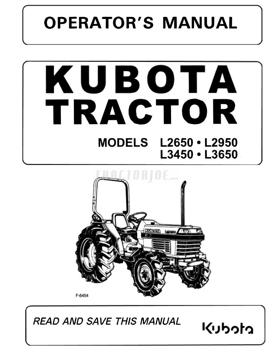 Kubota L2950 Wiring Diagram Online. . Wiring Diagram on