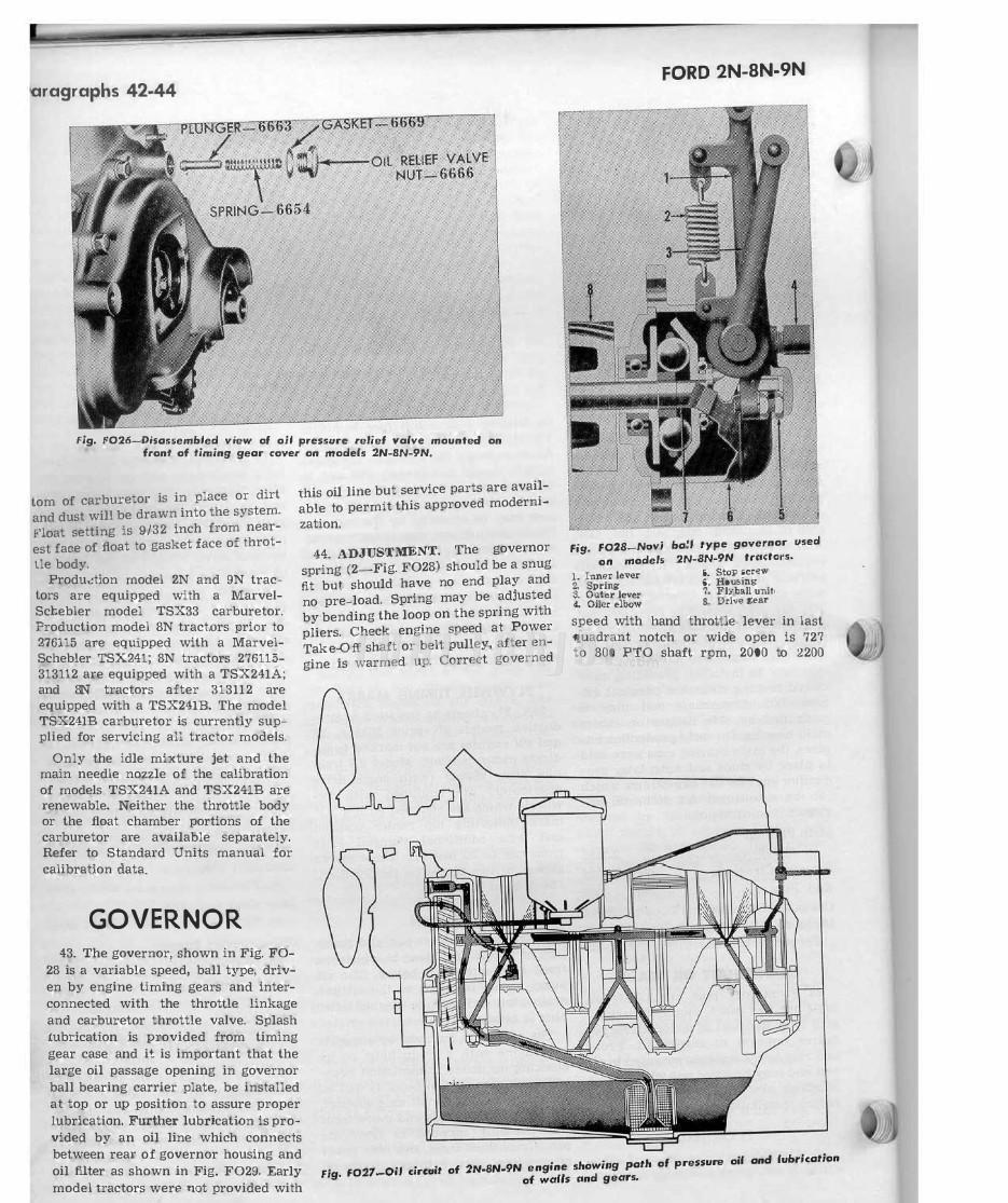 Ford Tractor Series 2n 8n 9n Shop Manual Wiring Diagram For 14