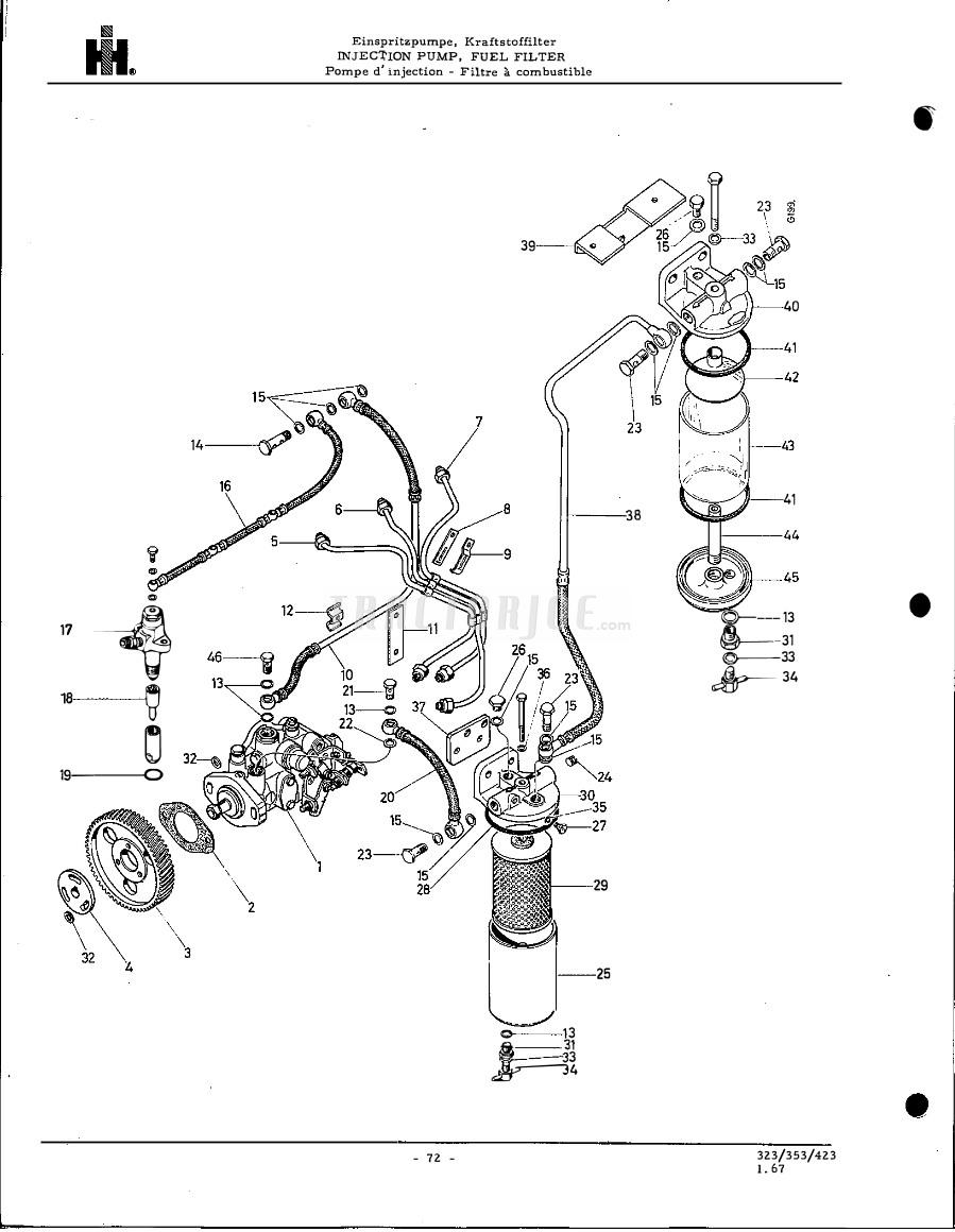 International Fuel Injector Parts Diagrams - Wiring Diagrams