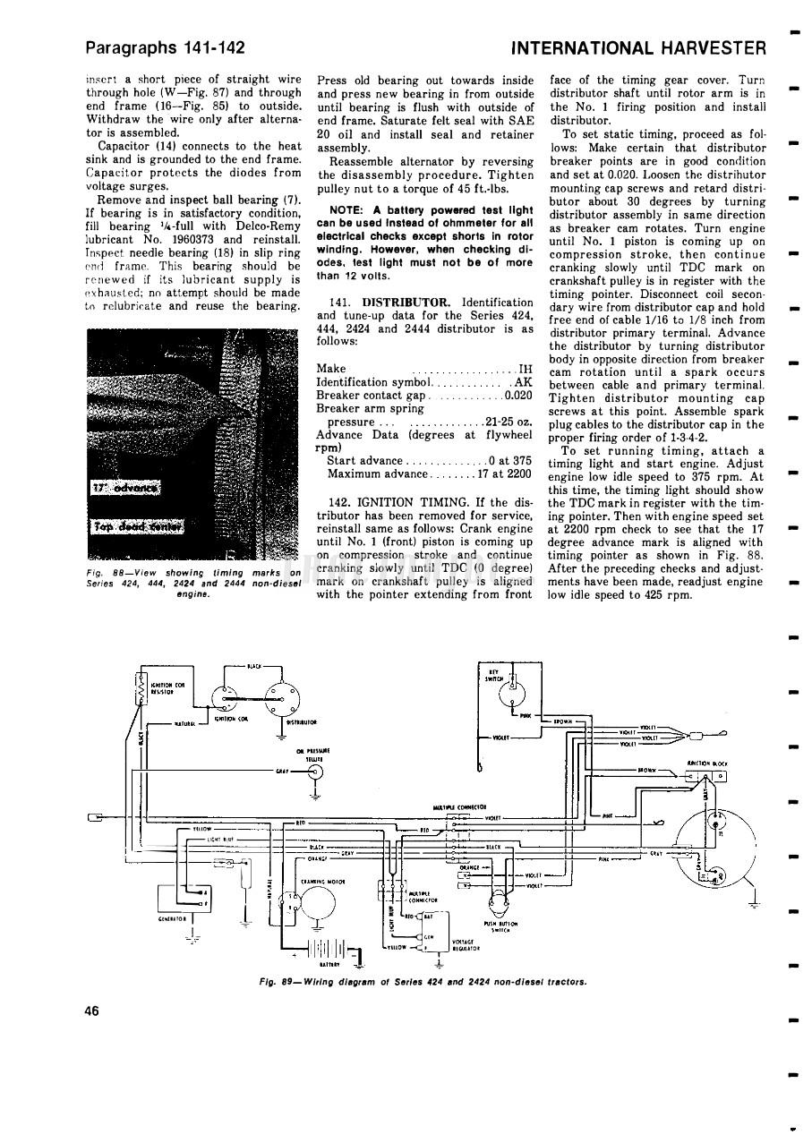 354 International Tractor Wiring Diagram | Wiring Diagram on